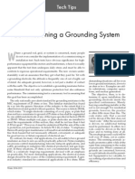 Comissioning Grounding System