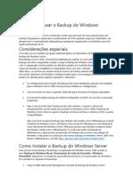 Quem Deve Usar o Backup Do Windows Server