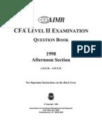 Cfa Level2 Exam
