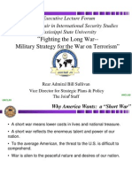Fighting the Long War - Military Strategy for the War on Terrorism 2006