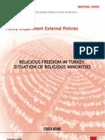 Religious Freedom in Turkey