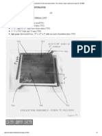 A Tracking Solar Concentrator for the home experimenter, The collector- Major material list, page 47, 10_14_99.pdf