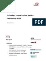 TecInTex, Nano-Tera 2013 Bern 30-5-13