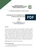 ATIVIDADES GEOGEBRA- CÁLCULO