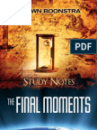 The Final Moments - By Shawn Boonstra