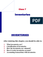 Inventories Accounting