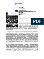 RESEÑA ORDEN Y VIOLENCIA DANIEL PECAUT
