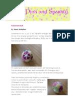 Patchwork Ball Pattern