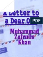 A Letter to a Dear One