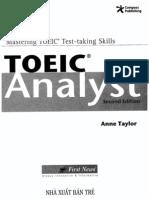 Analyst TOEIC - 01