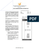 Banco de Condensadores- Catalogo