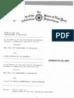 New York City Evaluation Plan