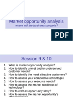 Session 9 to 11 - Venture Planning and Opportunity Assessment