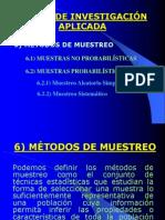 DISEÑO ESTADISTICO MUESTRAL Nº 03