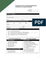 Application Form for BOI