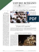 L´OSSERVATORE ROMANO - 31 Mayo 2013
