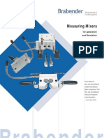 Brabender Measuring Plasticorder