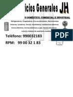 SERVICIO TÉCNICO DOMÉSTICO