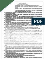Exercícios Fundamental Pré-Militar (sabados)