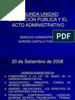20 Set La Funcion Publica y Acto Administrativo
