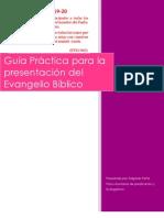 Guía práctica para la presentación del Evangelio Bíblico