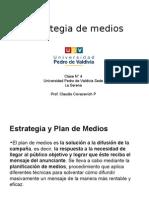 Clase 5 Estrategia de Medios