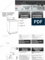 American Top Loader Washing Machine + Serial