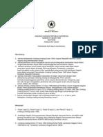 UU No. 3 tahun 1999 tentang Pemilihan Umum