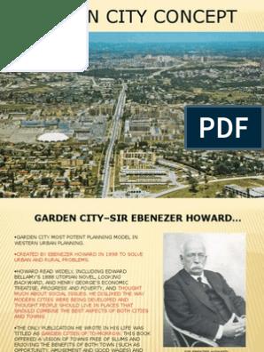 Garden City Ppt Urban Planning Urbanization