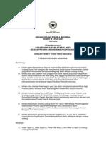 UU No. 18 tahun 2001 tentang Otonomi Khusus bagi Daerah Istimewa Aceh sebagai Provinsi Nanggroe Aceh Darussalam