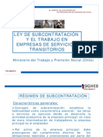 LeySubcontratacionTransitorias