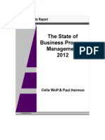 State of Business Process Management