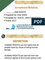 te drejtat e njeriyt