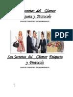 Etiqueta Protocolo y Glamour