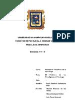 TAREA- Problema filosoficos de la Psicologia.doc