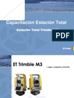 Estacion Total Trimble m3