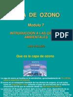 Clase 7, Capa de Ozono