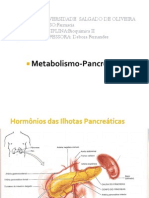 Metabolismo Pancreas