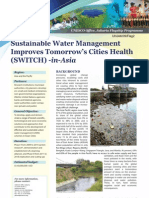 Switch - Unesco - Sustaintable Urban Water Management