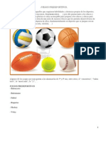 Juegos Pre Deportivos Para Desarrollar Con Adolescentes.