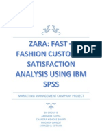 Zara Company Project Report