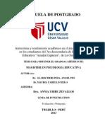 Tesis de Autoestima y Rendimiento Academico 2013[1]