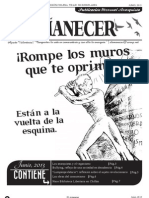 Periodico Anarquista El Amanecer, Junio 2013