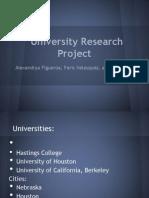 university power point 2
