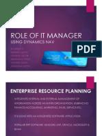 Enterprise Resource Planning Group 3