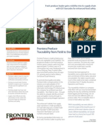 Case Study Frontera Produce Traceability Case Study