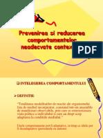 Prevenirea Si Reducerea Comportamentelor Inadecvate Contextual
