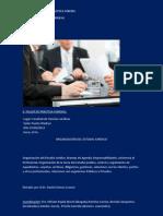 II Taller de Practica Forense Organizacion Del Estudio Juridico