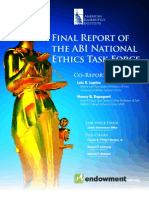 Final Report AMERICAN BANKRUPTCY INSTITUTE Ethics Task Force APRIL 2013