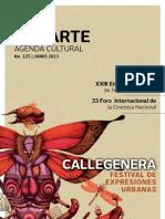 Agenda cultural de Conarte | junio 2013